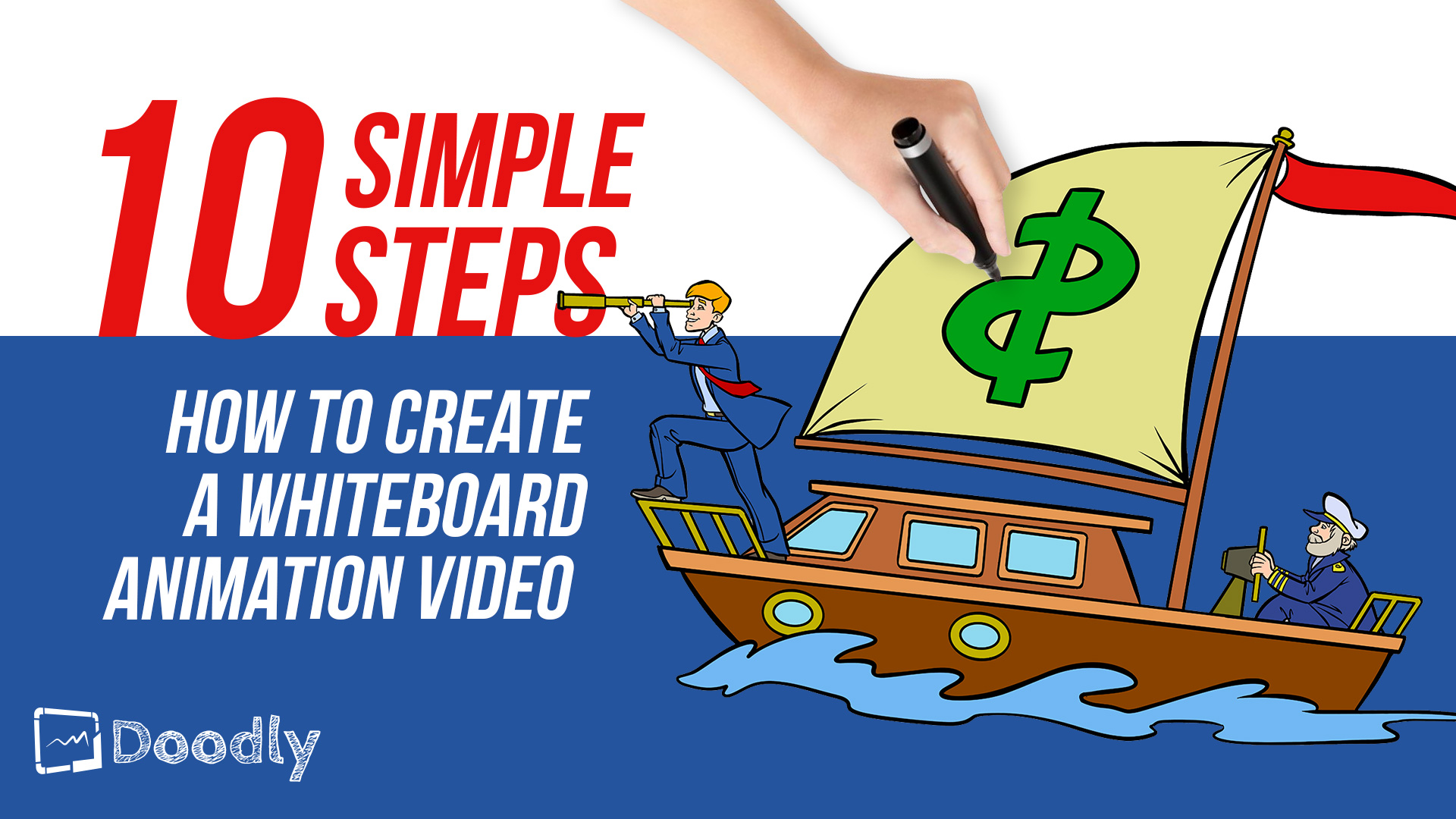 How to create a whiteboard animation video in 10 simple steps