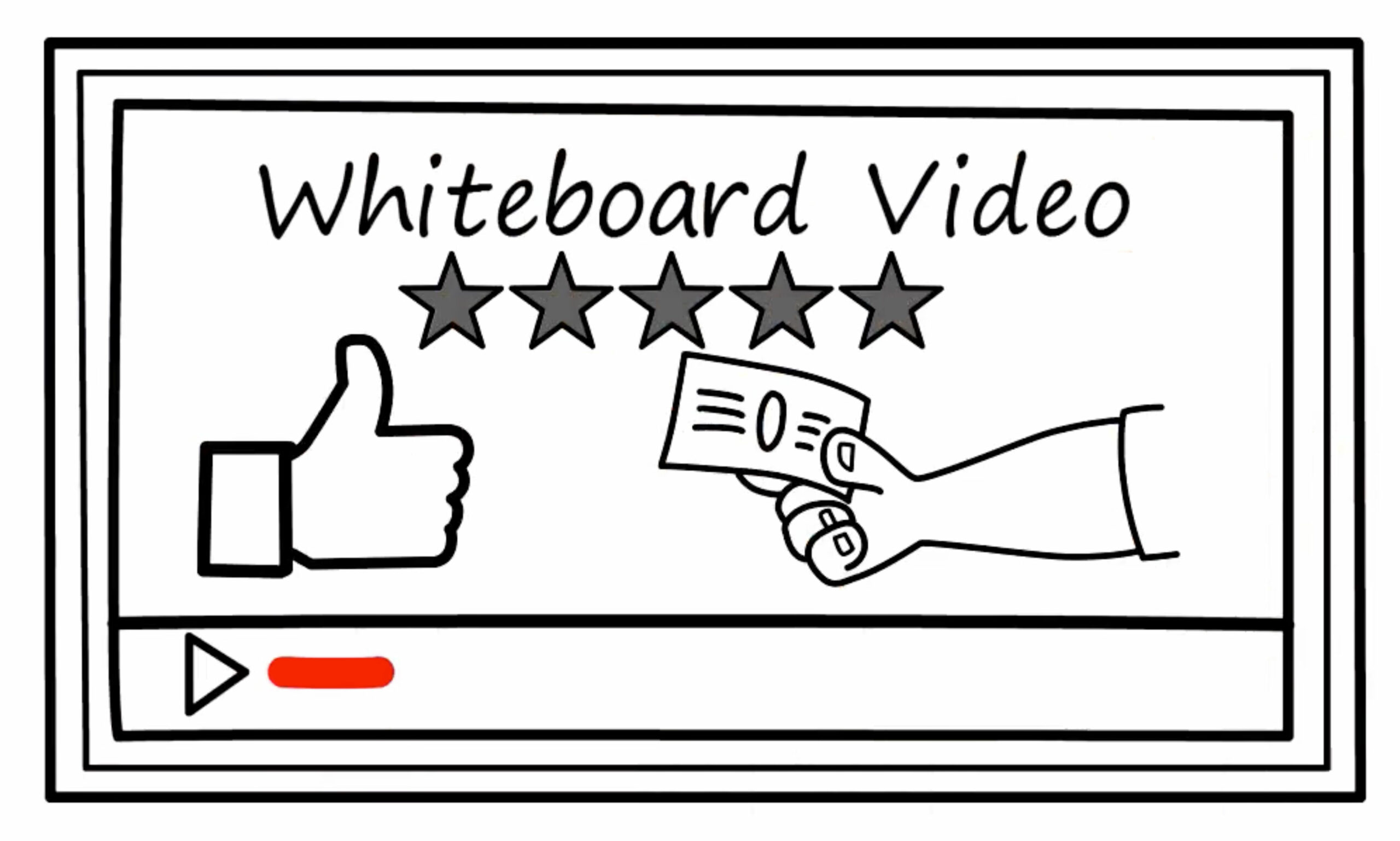 Whiteboard video graphic