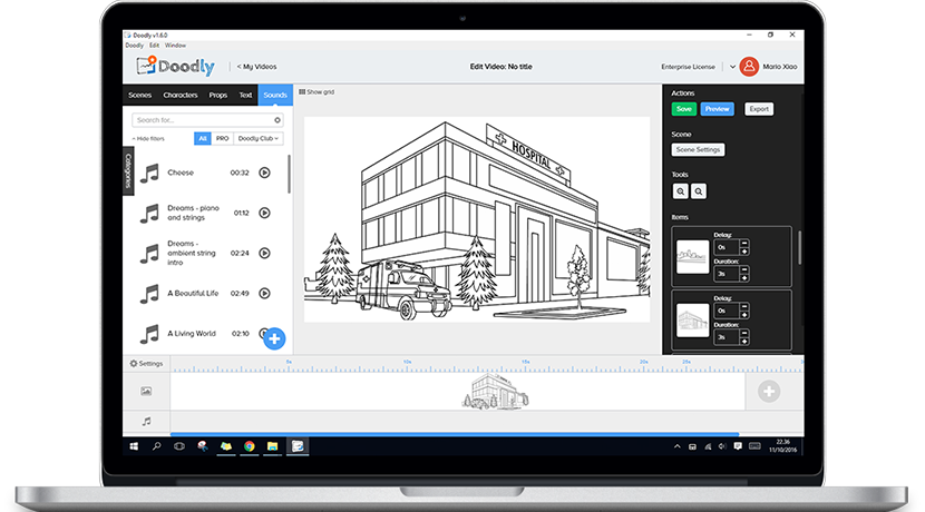 Doodly easily create whiteboard doodle videos in minutes for Doodly free