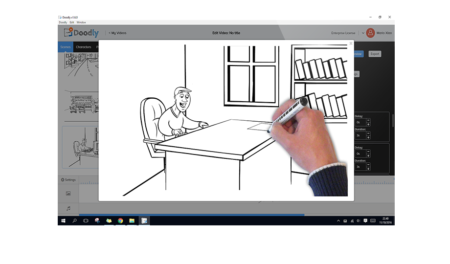 Doodly Easily Create Whiteboard Doodle Videos In Minutes